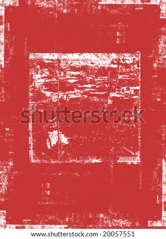 Background with distressed edges and image frame
