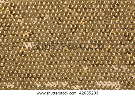 Gold Sequin Background Background With Gold Sequins
