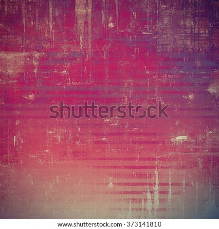 Background with grunge stains. With different color patterns: yellow (beige); gray; pink; purple (violet) - stock photo