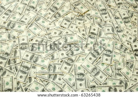 Background with money - stock photo