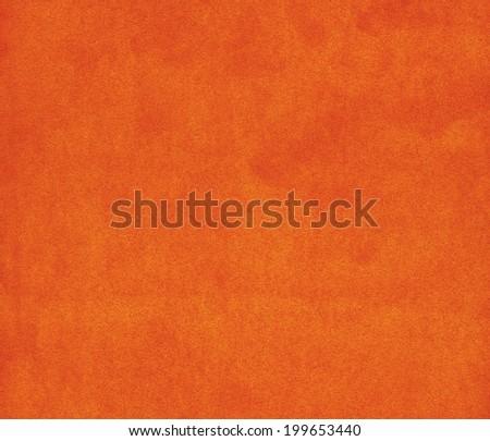 Background with orange texture, velvet fabric, close-up - stock photo