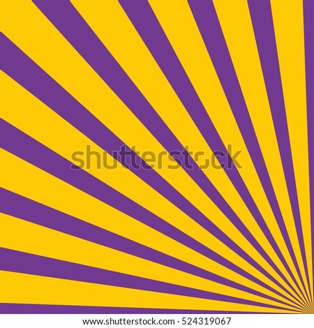 Background with rays - Purple Orange