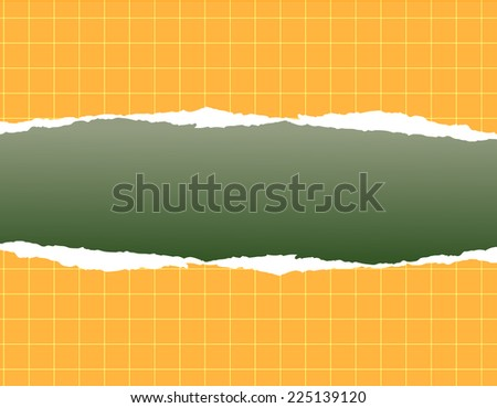 background with ripped paper           - stock photo