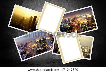background with spiritual images and atmosphere  - stock photo