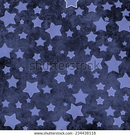 background with stars