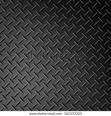 background with steel diamond plate texture