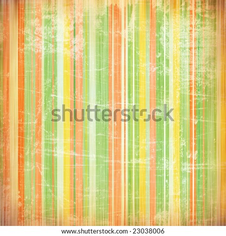 Background with weathered painted, vertical stripes in grunge style
