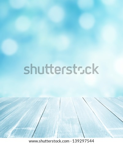background with wooden planks - stock photo