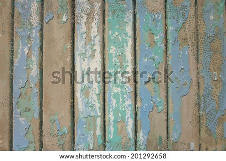 Background wooden plank. Raster - stock photo