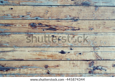 backgrounds and texture concept - wooden floor, fence or wall - stock photo