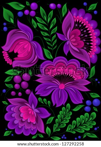 backgrounds flower,pattern floral. A copy of the vector format in the profile's - stock photo