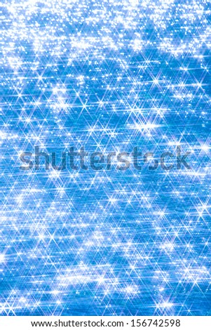 Backgrounds of sparkling blue water surface stock photo