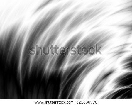 Backgrounds silver abstract monochrome pattern wave design - stock photo