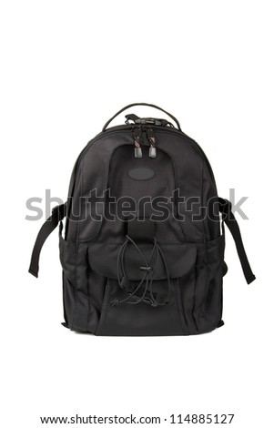 Backpack isolated on white