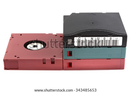 Restore data from tape drive