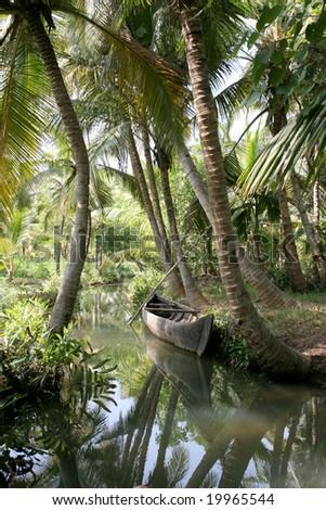 backwaters - stock photo