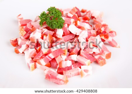 bacon - stock photo