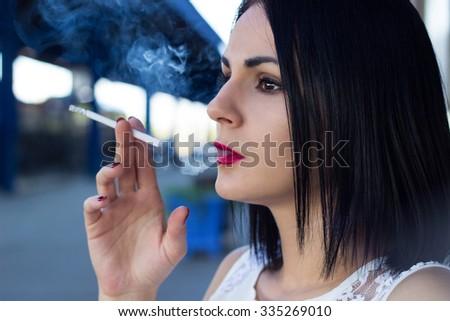 Bad addiction - stock photo