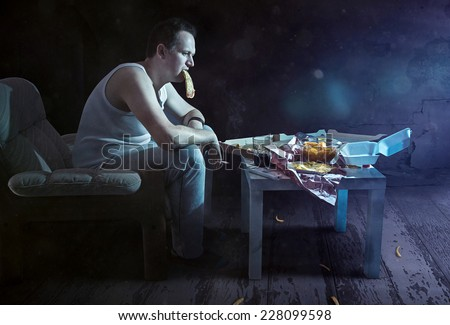 Bad Habits - stock photo