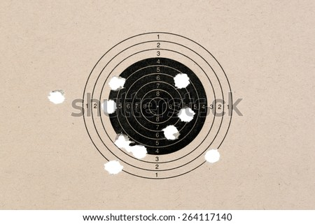 Bad Shots - stock photo