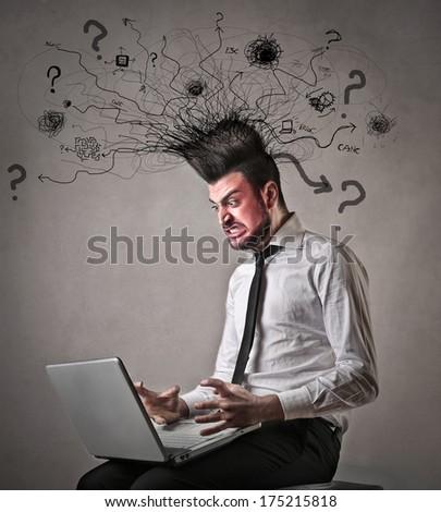 bad technology - stock photo