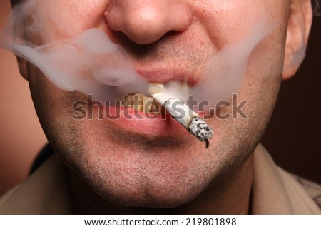 Bad teeth smoker