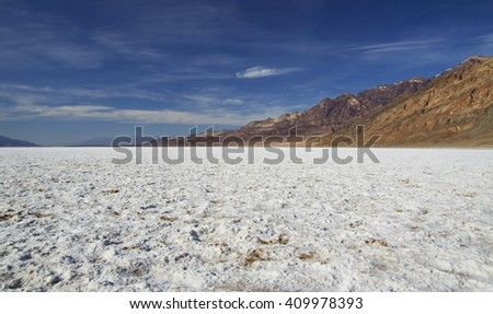 Bad Water Basin in Death Valley (California)