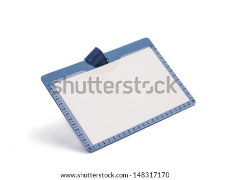 badge isolated on a white background - stock photo