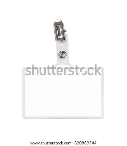 Badge isolated on white background