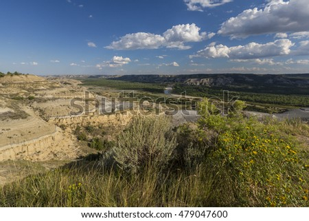 Badlands Valley Scenic