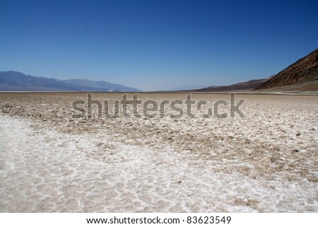 BADWATER, DEATH VALLEY NATIONAL PARK, USA