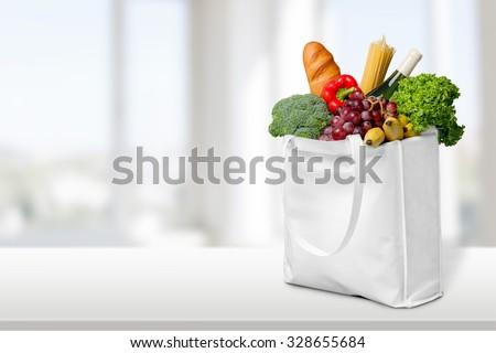 Bag. - stock photo
