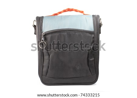 bag for camera isolated