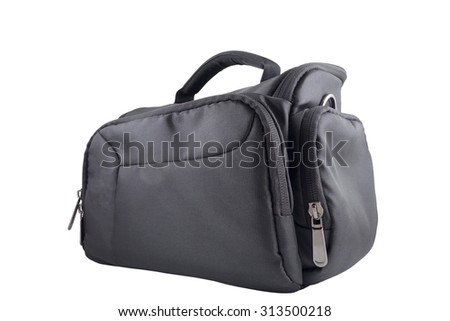 Bag for the camera isolated on a white background