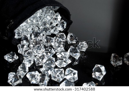 Bag of diamonds