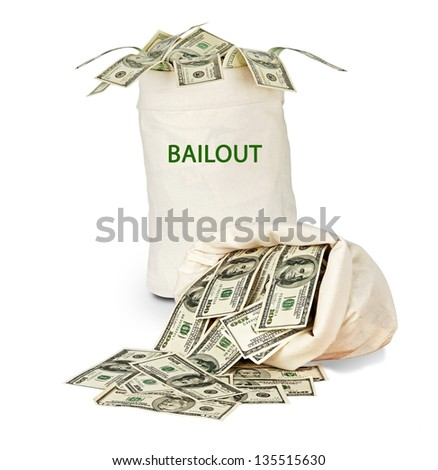 Bag with bailout