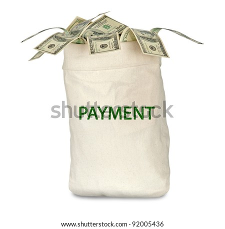 bag with payment