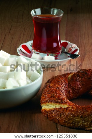 bagel - stock photo
