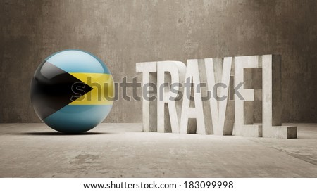 Bahamas High Resolution Travel Concept