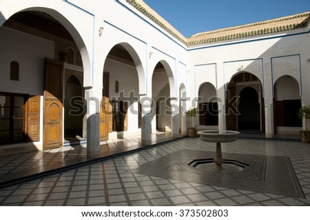 Bahia Palace - Marrakesh - Morocco