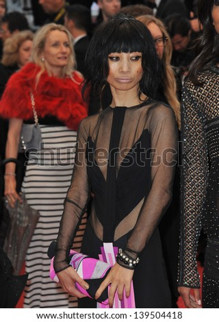 "Bai Ling at the gala premiere of ""Jimmy P. Psychotherapy of a Plains Indian"" in competition at the 66th Festival de Cannes. May 18, 2013  Cannes, France"