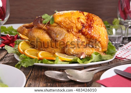 baked chicken for christmas dinner