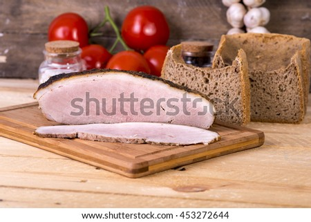 baked ham spices