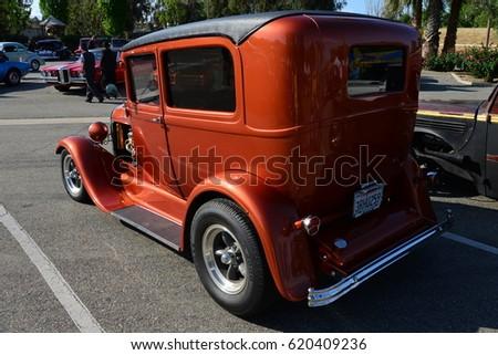 BAKERSFIELD CA APRIL Calvary Stock Photo Royalty Free - Bakersfield car show