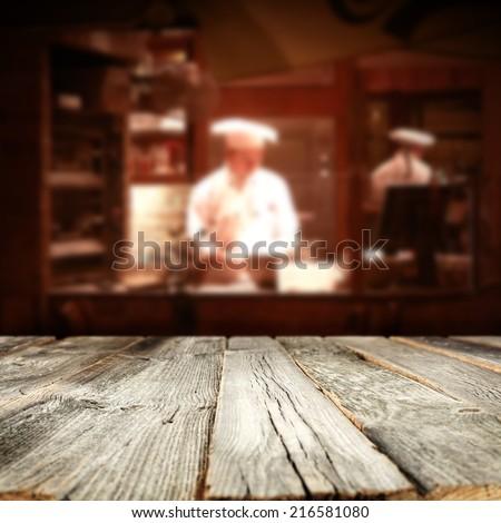 bakery interior  - stock photo