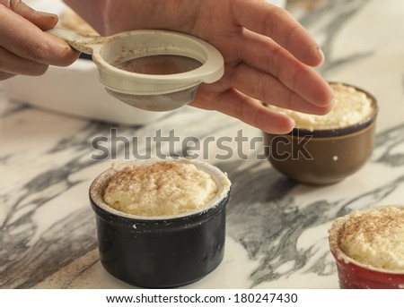 Baking cake - stock photo