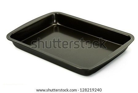 baking sheet - stock photo