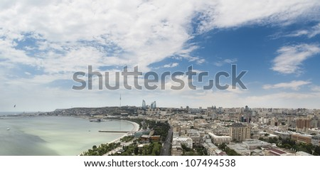 Baku City - stock photo