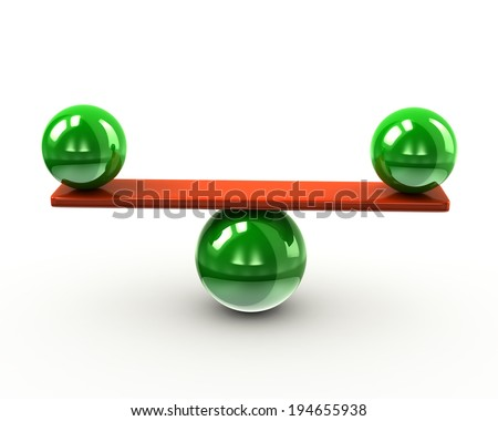 Balance and harmony - stock photo