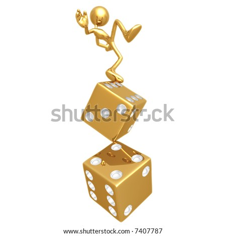 Balance Risk - stock photo